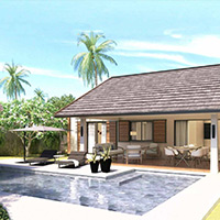 Modern and sophisticated villa - 2 bedrooms
