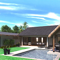 Modern and sophisticated villa - 3 bedrooms