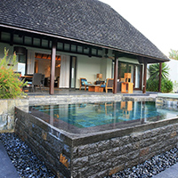 Waterfront villa on the golf - 2 bedrooms