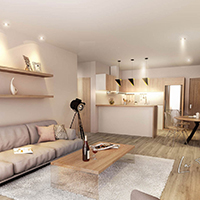 Modern apartment with high rental potential - 2 bedrooms
