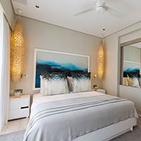 Two-suite luxury hotel apartment - 2 bedrooms